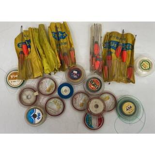 購入前確認 釣具まとめ セット 糸 浮き 仕掛け 釣り フィッシング 海 川(釣り糸/ライン)