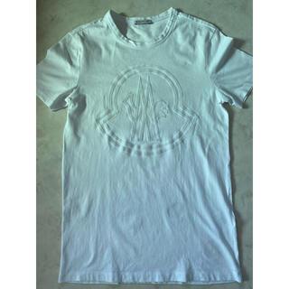 モンクレール(MONCLER)のMONCLER モンクレール Tシャツ 白 XS(Tシャツ/カットソー(半袖/袖なし))