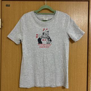 ポパイ tシャツ  M(Tシャツ(半袖/袖なし))