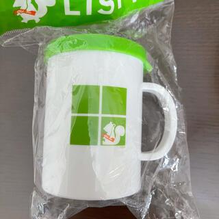 エーユー(au)のau LISMO フタ付きカップ 非売品(キャラクターグッズ)