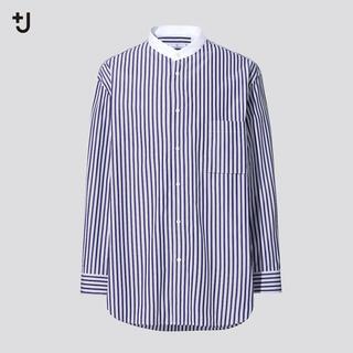 ユニクロ(UNIQLO)のUNIQLO +J ジルサンダー スーピマコットン オーバーサイズシャツ(シャツ)