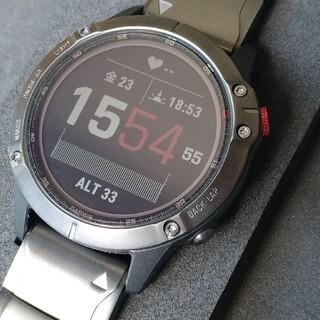 GARMIN - 【値下げ】ガーミン腕時計 fenix6 Pro Dual Power
