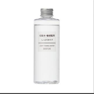 MUJI (無印良品) - 無印良品 化粧水 敏感肌用 しっとりタイプ 保湿 200ml