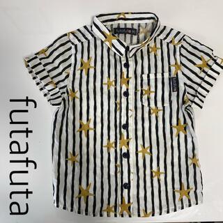 フタフタ(futafuta)の手書き風ストライプシャツ(ブラウス)