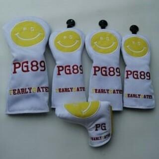 パーリーゲイツ(PEARLY GATES)のPEARLYGATES 5点セット  パーリーゲイツ ヘッドカバー 白い(その他)