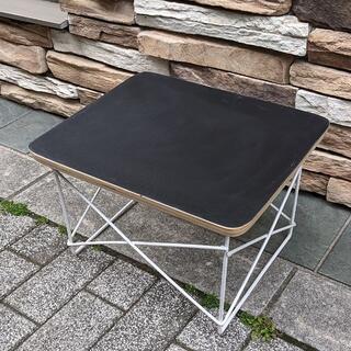 イームズ LTRT テーブル ローテーブル ミニテーブル サイドテーブル 黒/白(ローテーブル)