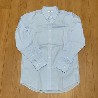 ユニクロ(UNIQLO)の【美品】UNIQLO ファインクロスブロードシャツ(レギュラーカラー・長袖)(シャツ)