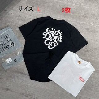 GDC - Human Made Girls Don't Cry Tシャツ 男女兼用  2枚