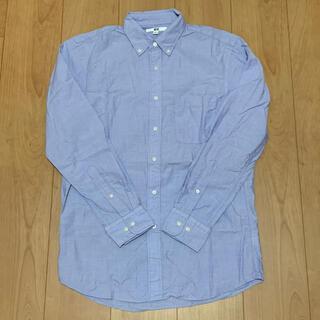 ユニクロ(UNIQLO)の【美品】UNIQLO ユニクロ メンズ カッターシャツ ワイシャツ スーツ(シャツ)