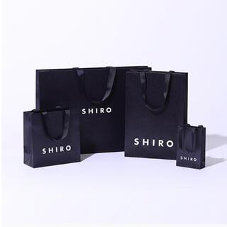 シロ(shiro)のshiro ラッピング 紙袋(ショップ袋)