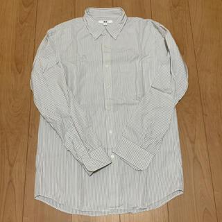 ユニクロ(UNIQLO)の【美品】UNIQLO ユニクロ メンズ カッターシャツ ワイシャツ(シャツ)