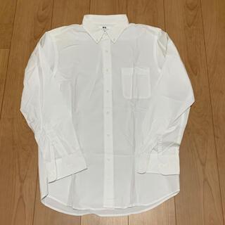 ユニクロ(UNIQLO)のUNIQLO ユニクロ メンズ カッターシャツ ワイシャツ 白シャツ スーツ(シャツ)