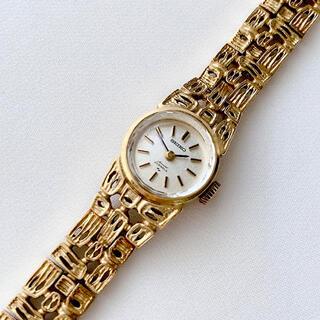 SEIKO 23石 レディース手巻き式腕時計 レア ビンテージ 稼動品