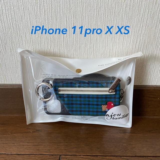 familiar(ファミリア)のエジュー ajew ファミリアコラボ iPhone 11pro Ⅹ ⅩSケース キッズ/ベビー/マタニティのキッズ/ベビー/マタニティ その他(その他)の商品写真