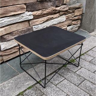 イームズ LTRT テーブル ローテーブル ミニテーブル サイドテーブル 黒/黒(ローテーブル)