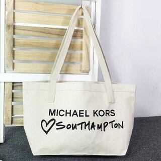 Michael Kors - 新品マイケルコースMICHAEL KORSイギリス限定キャンバストートバッグ