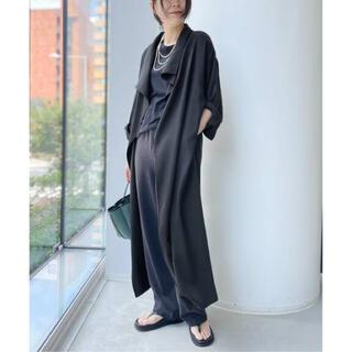 L'Appartement DEUXIEME CLASSE - L'Appartement Relax Gown Coat ブラック
