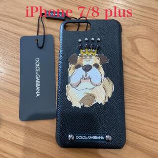 ドルチェアンドガッバーナ(DOLCE&GABBANA)のドルチェ&ガッバーナ iPhone7/8plus ケース(モバイルケース/カバー)