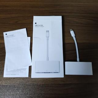 Apple USB-C to VGA マルチポートアダプタ apple純正