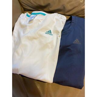 adidas - 2枚セット アディダス トレーニングウェア ランニングウェア tシャツ Lサイズ