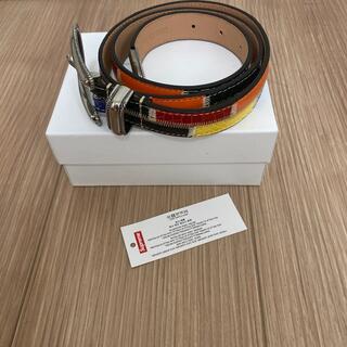 シュプリーム(Supreme)のS/M supreme Patchwork Ranger Belt (ベルト)