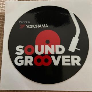 ステッカー 横浜ゴム 「sound grooved」(しおり/ステッカー)