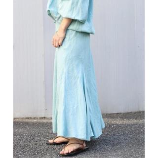 Plage - 【新品未使用】Plage Linen Mermaid スカート◆ ¥20,900