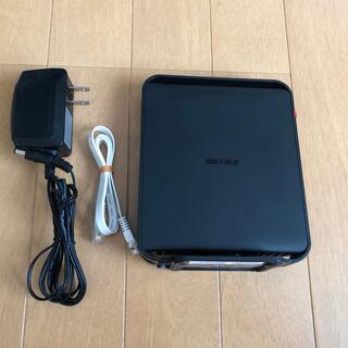 バッファロー(Buffalo)のBUFFALO WHR-1166DHP2 無線ルーター wifi(PC周辺機器)