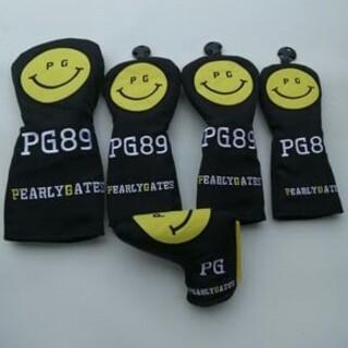 パーリーゲイツ(PEARLY GATES)のPEARLYGATES   パーリーゲイツ ヘッドカバー 5点セット ブラク  (その他)