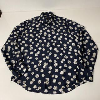 LOUIS VUITTON - LOUIS VUITTON シルク ダイスシャツ S