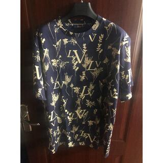ルイヴィトン(LOUIS VUITTON)のルイヴィトン リーフディスチャージ Tシャツ L(Tシャツ/カットソー(半袖/袖なし))