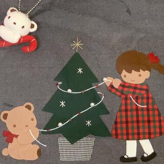 familiar - 【新品タグ付】familiar クリスマス デニムバッグ 2020 ☆完売品☆