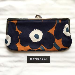 marimekko - マリメッコ   ウニッコ柄  がま口ポーチ