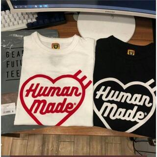 GDC - HUMAN MADE   ハート 白黒2点