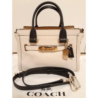COACH - COACH コーチ スワッガーキャリーオール 27 2wayショルダーバッグ