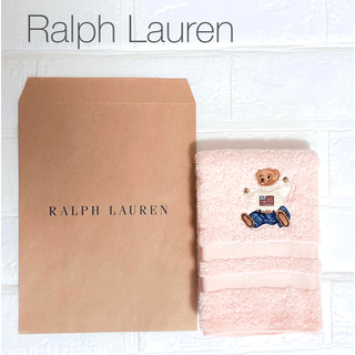 POLO RALPH LAUREN - ラルフローレン ベアタオル RALPH LAUREN クマタオル タオルハンカチ