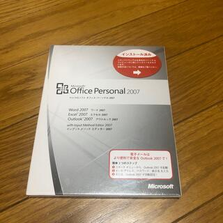 Microsoft - マイクロソフトOffice Personal2007
