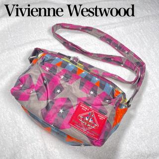 ヴィヴィアンウエストウッド(Vivienne Westwood)のVivienne Westwood★ヴィヴィアン★オーブ柄ナイロンショルダー(ショルダーバッグ)