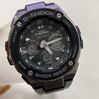G-SHOCK - G-SHOCK☆中古 デジアナ 電波ソーラー GST-W300