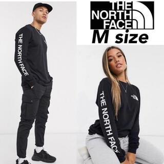 THE NORTH FACE - ノースフェイス ロンT 長袖 Tシャツ M 袖ロゴ L/S SLEEVE HIT