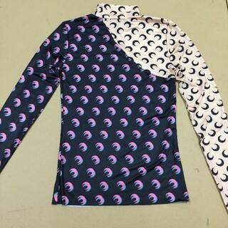 マルタンマルジェラ(Maison Martin Margiela)のMarine Serre プリントタートルネックトップ(Tシャツ(長袖/七分))