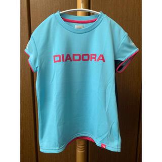 ディアドラ(DIADORA)の【お買得】 Lサイズ DIADORA テニスウェア レディース Tシャツ(ウェア)