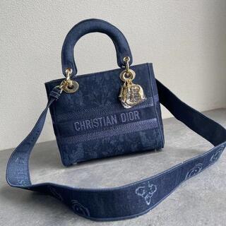 ディオール(Dior)のブックトート ネイビー カモフラ◆ディオール(ショルダーバッグ)