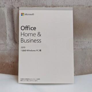 マイクロソフト(Microsoft)のMicrosoft Office Home & business 2019(その他)