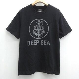 NEIGHBORHOOD - NEIGHBORHOOD ネイバーフッド Tee Tシャツ BLACK ブラック