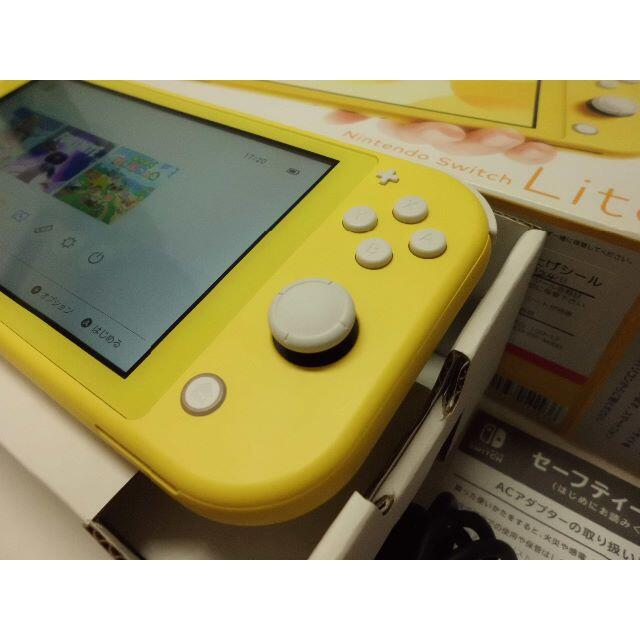 Nintendo Switch(ニンテンドースイッチ)のNintendo Switch Lite Yellow エンタメ/ホビーのゲームソフト/ゲーム機本体(携帯用ゲーム機本体)の商品写真