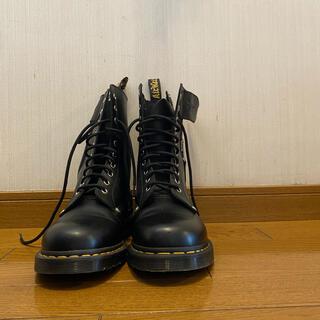 ドクターマーチン(Dr.Martens)のドクターマーチン 10ホール schottコラボ(ブーツ)