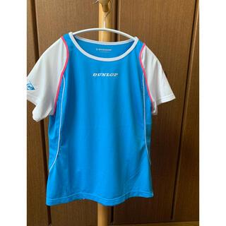 ダンロップ(DUNLOP)の【お買得】 Lサイズ DANLOP テニスウェア レディース Tシャツ(ウェア)