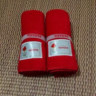 トヨタ - トヨタ  オリンピックタオル二枚セット