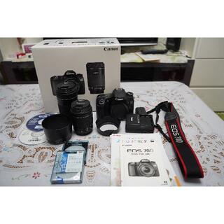 Canon - Canon デジタル一眼レフカメラ EOS 70D ダブルズームキット
